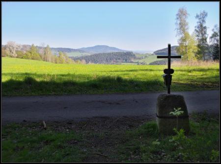 výhled od Švédských hrobů