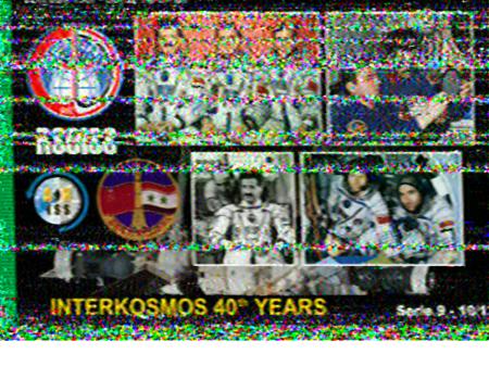 snímek SSTV